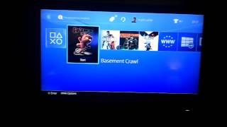 Amazing Basement Crawl Footage.