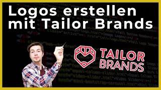 👉 Logos erstellen mit Tailor Brands - OnlineDurchbruch.com