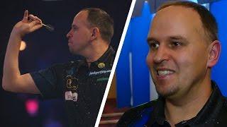 Darius Labanauskas is very happy to win
