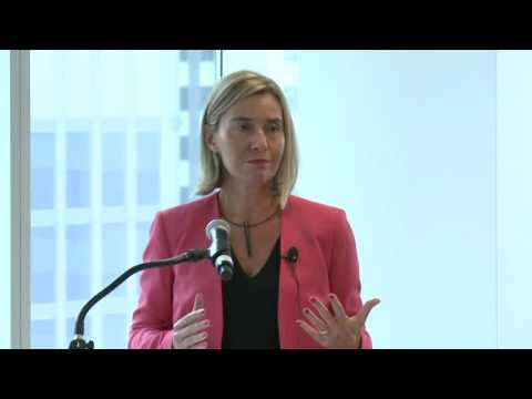 Federica Mogherini speech on side event over Investment Plan and Migration