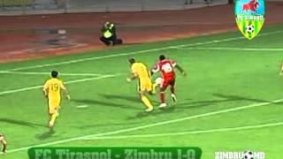 (GOAL) FC Tiraspol - Zimbru 1-0 (15.09.13) DN 2013-14, week 7