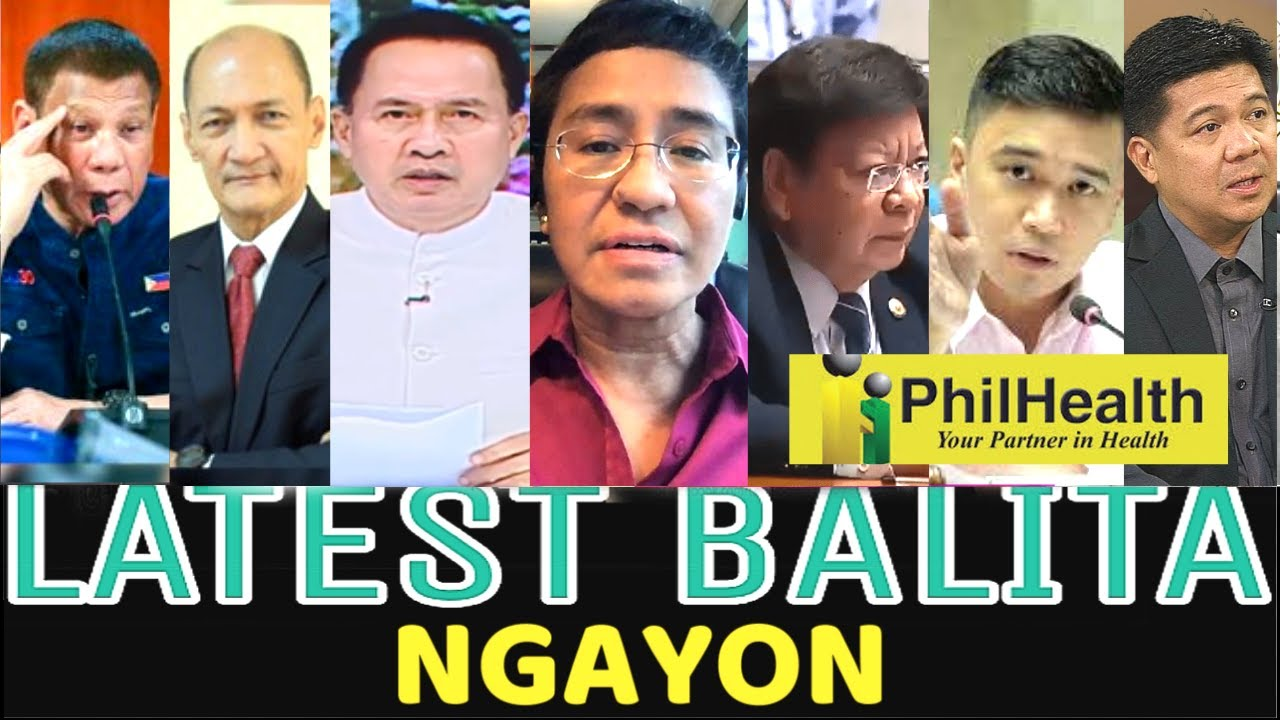 LATEST NEWS - AUGUST 14, 2020 MARCOLETA/ALVARADO/DEFENSOR/PHILHEALTH/QUIBOLOY/RESSA/DUTERTE/MORALES