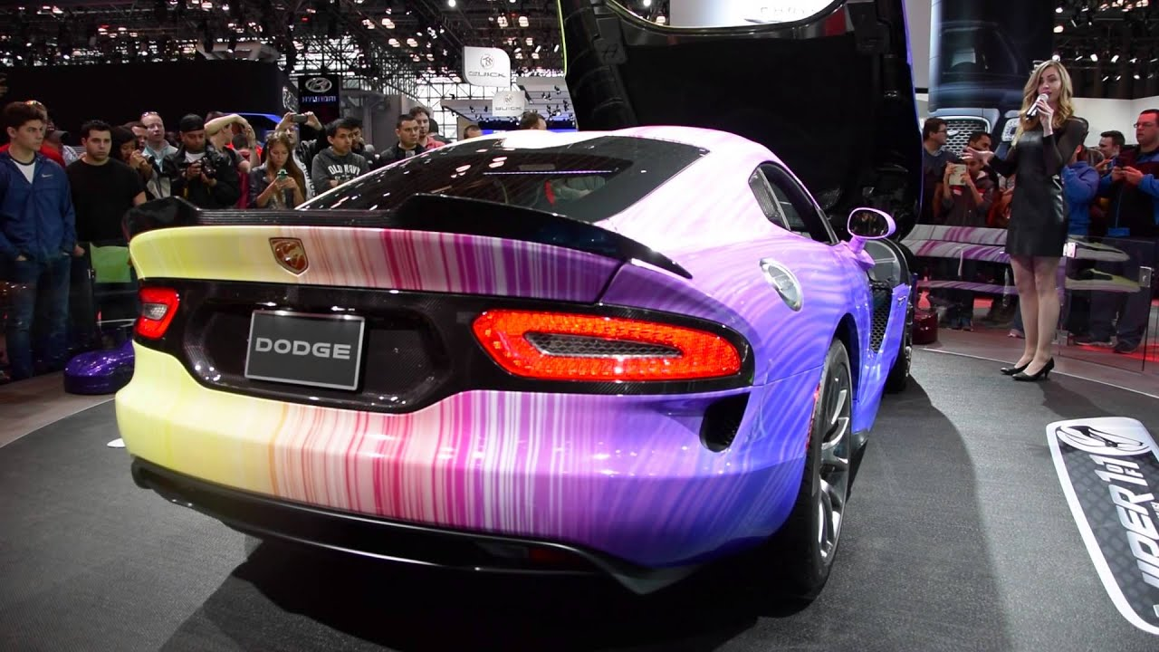 Dodge Viper Art Car Srt - 2015 York