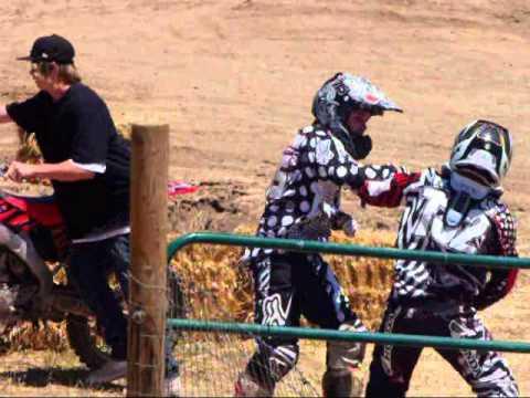 funny motocross fight youtube
