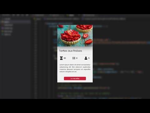 Créer Une Belle Carte Avec CSS GRID