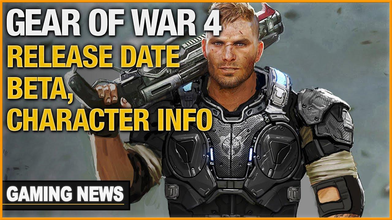 Gears 4 release date in Brisbane