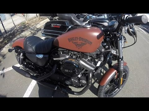 Sportster Iron 2016 >> 2017 Harley Davidson Sportster Iron 883 - Test Ride and Review - Badass ? - South San Francisco ...