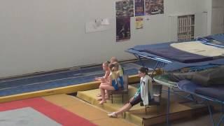 Акробатическая дорожка ( чемпионат Киева)