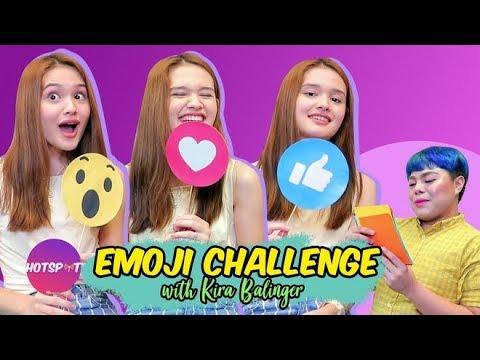 Hotspot 2018 Episode 1471: Kira Balinger, Plays The 'Emoji Challenge' Leading Men Edition!