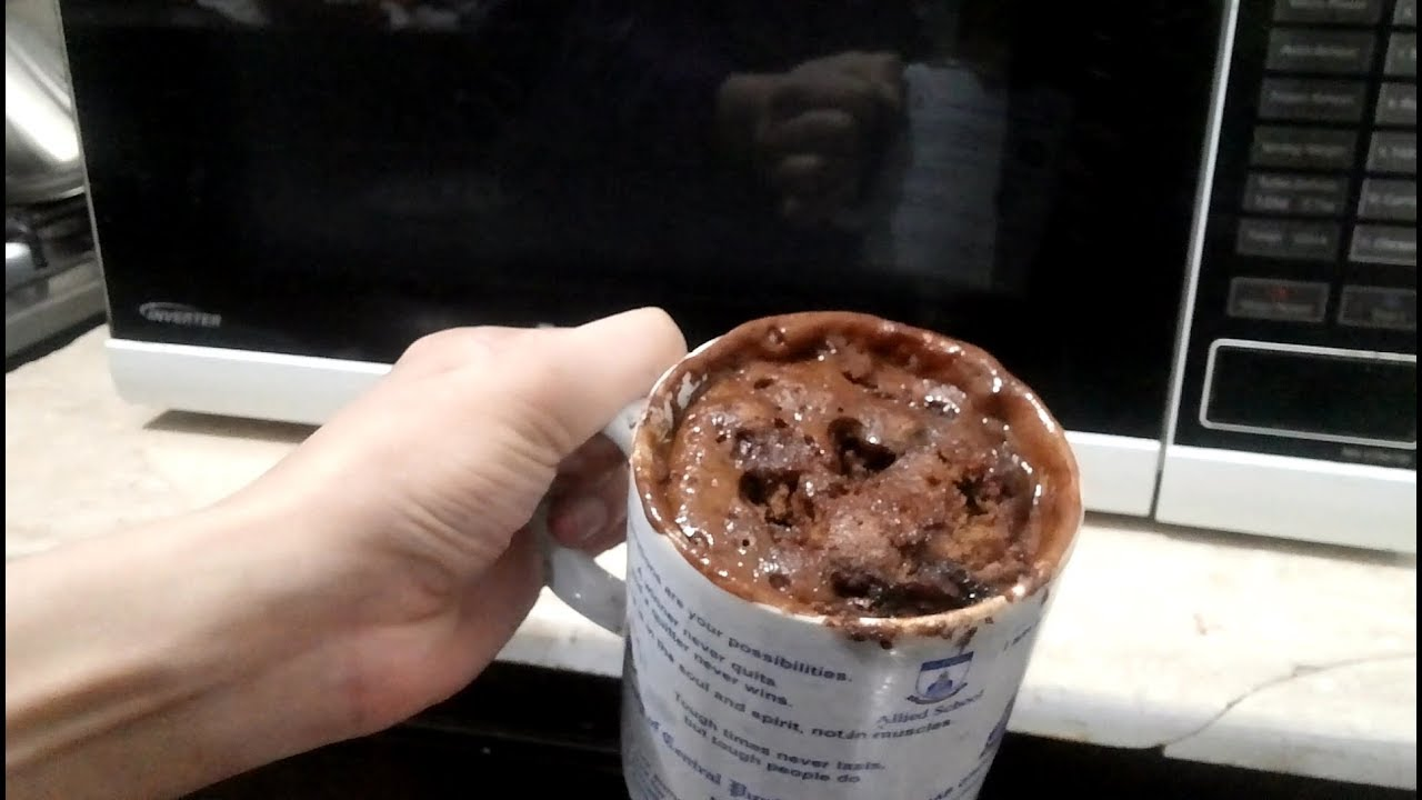 HOW TO MAKE CHOCOLATE MUG CAKE IN MICROWAVE WITHIN 1.5 ...