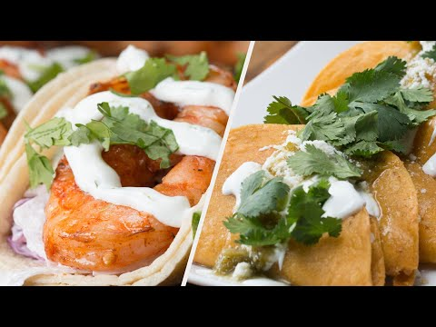 How To Make 5 Recipes For Your Next Taco Tuesday • Tasty