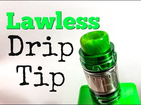 UNBOXING: Lawless Drip Tip