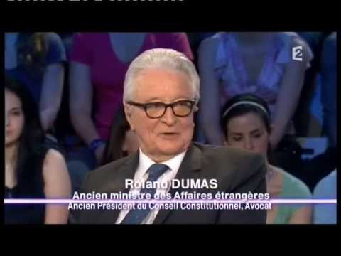Roland Dumas - On n'est pas couché 23 avril 2011 #ONPC