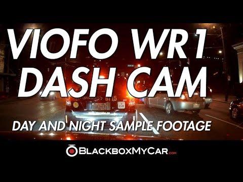 VIOFO WR1 WiFi Dash Cam Sample Video (Day/Night) - BlackboxMyCar
