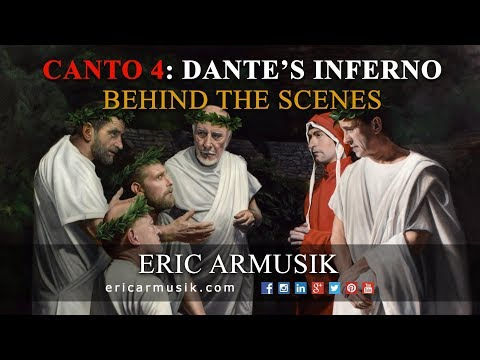 Canto 4: Dante and Virgil Visit the Great Poets of Antiquity in Limbo by Eric Armusik