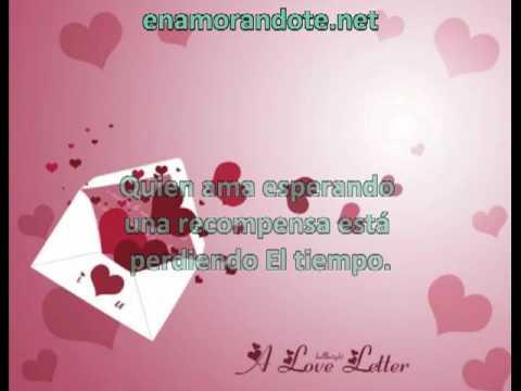 Cartas De Amor Cortas Y Lindas Para Enamorar Youtube