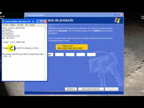 Como Validar Windows XP