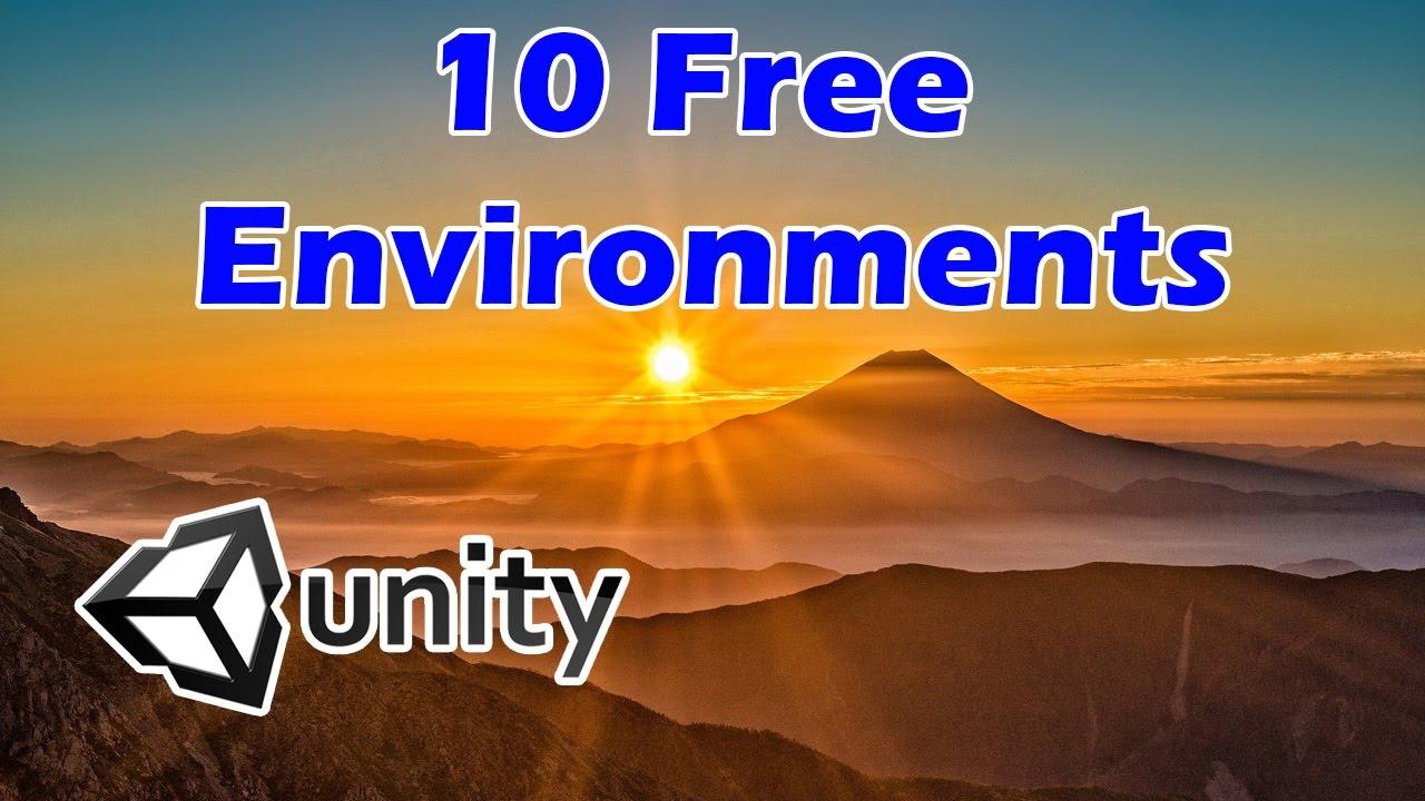 Ten Free Unity3D Environment Assets - YouTube