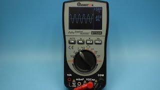 Мультиметр осциллограф MUSTOOL MT8206 полный обзор