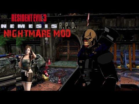 Resident Evil 3: Nemesis - NIGHTMARE MOD - PC