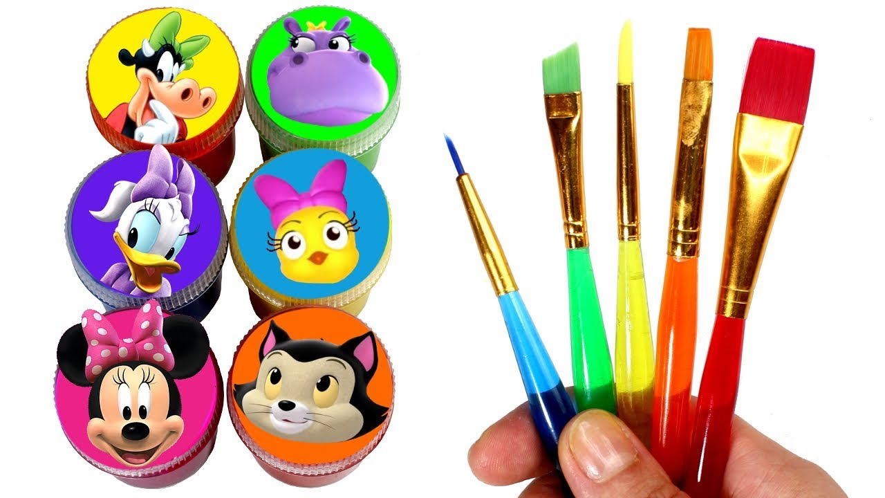 Minnie Mouse Happy Helpers Drawing Painting With Surprise Toys