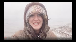 First Snow at Deep Creek Lake 2020