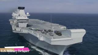 The HMS Queen Elizabeth is a New Supporter of the F-35 for the Biggest Mission