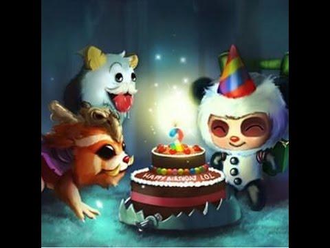 League Of Legends Happy Birthday Teemo Youtube