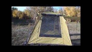 Обзор и сборка шатра GREEN WAY (модель 120109)