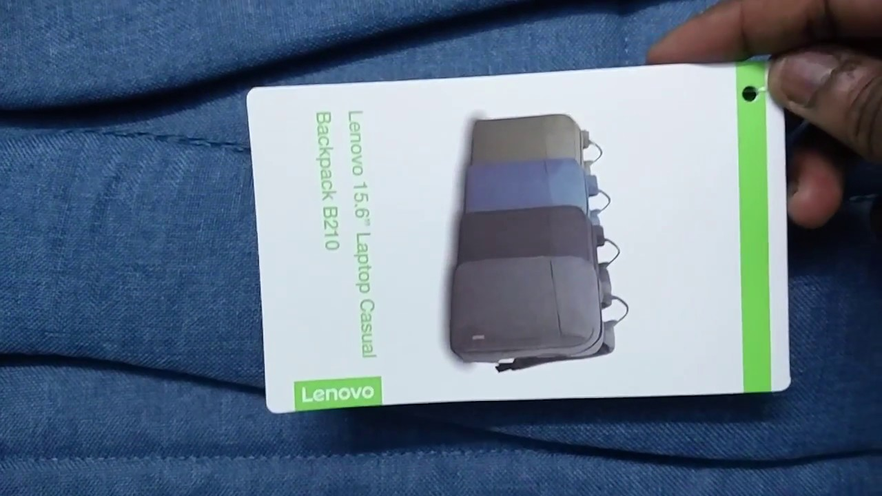 a832834a3a2f5 lenovo laptop Backpack B210 - YouTube