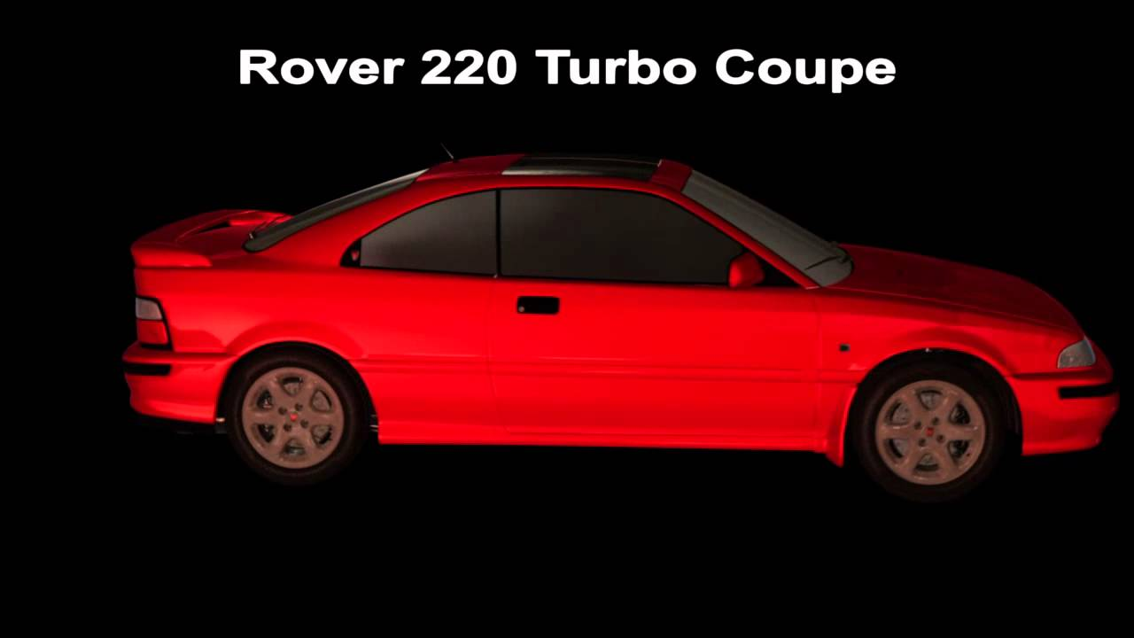 rover coupe 220 turbo 3d model video 4 after effects element 3d 1080p youtube. Black Bedroom Furniture Sets. Home Design Ideas