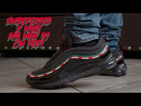 hot sale online 10355 031d9 Undefeated X Nike Airmax 97