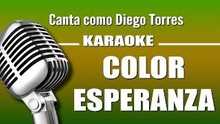 Diego Torres Color Esperanza Karaoke Vision