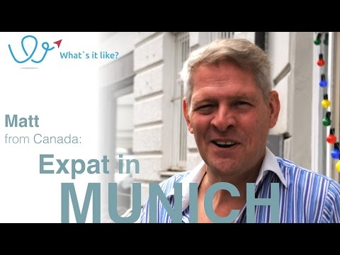 Living in Munich - Expat Interview with Matt (Canada) about his life in Munich, Germany (part 01)