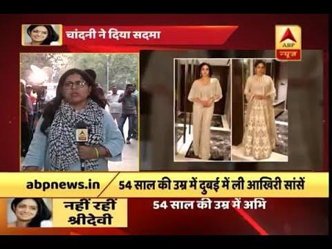Shocked fans of Sridevi gather outside her Mumbai residence