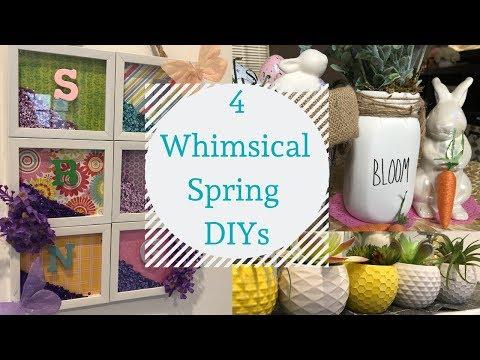 Four Whimsical Spring/Easter DIYs