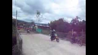 CARRERA de motos Santiago-Putumayo