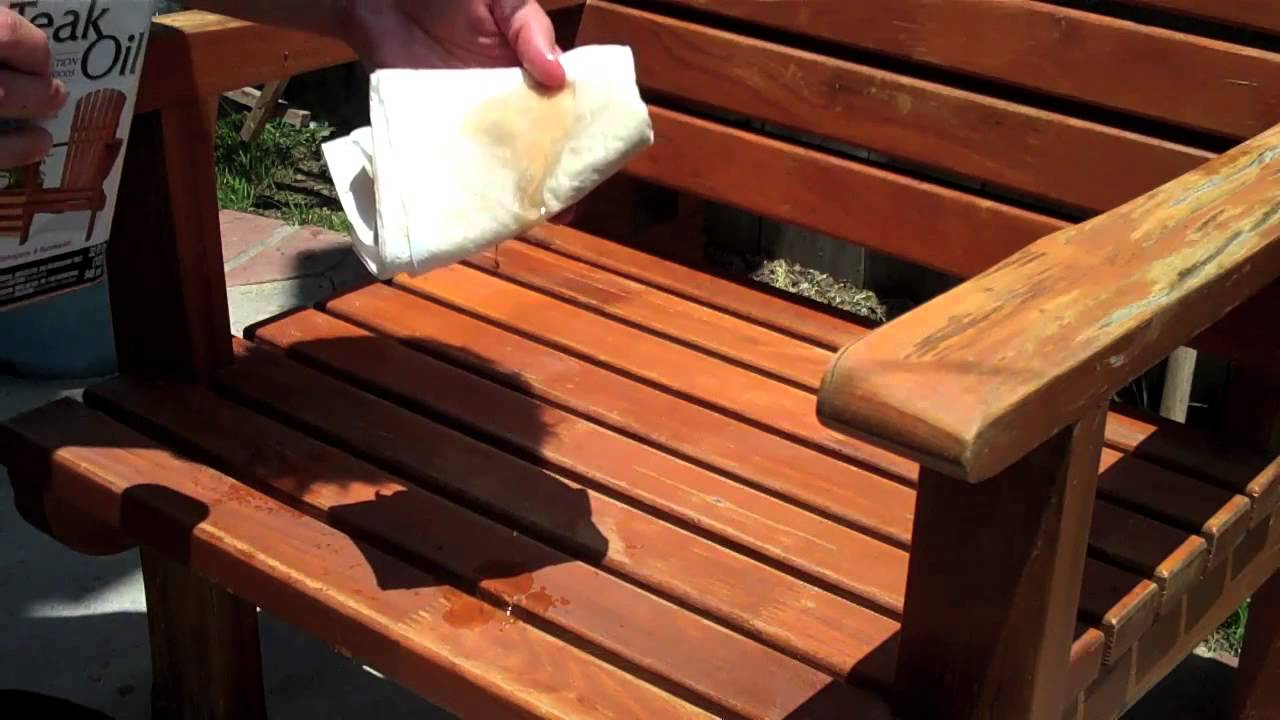 ✇ How To Treat Patio Furniture   Teak Furniture   DIY Outdoor Furniture    YouTube