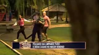 Folgado deixa a galera comendo poeira e arma a maior confusão no parque
