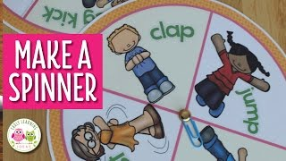 How Make Game Spinner And Paperclip