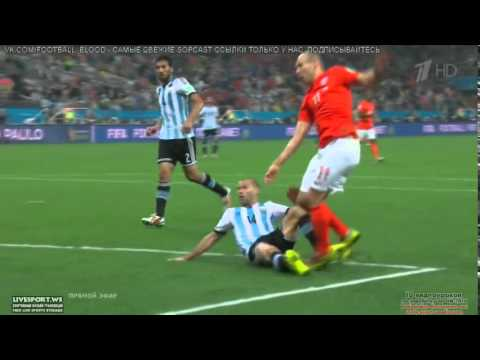 Argentina VS Netherlands  2014 highlights &  Penalties 2-4 Full HD - World Cup Brazil 2014