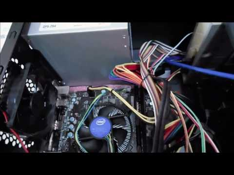 Installation Intel Pentium G4400 Processor, MSI Motherboard & Hyperx Ram to Cabinet Part 2