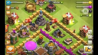 Il mio villaggio su clash of clans( 1 parte)
