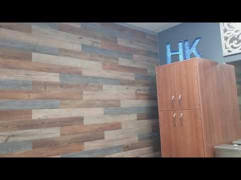 Wood Vinyl Wall Covering