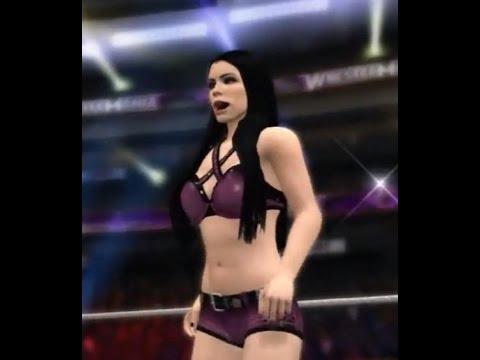 WWE 2K15 Paige DLC - Entrance, Signature/Finishing Moves and Winning Animation - (PS3/Xbox360)