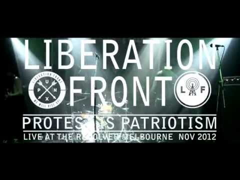 Protest is Patriotism - Liberation Front - Live @ Melbourne the Revolver 2012 (band)