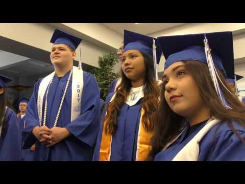 John Tyler High School Graduation Walk - May 26, 2017