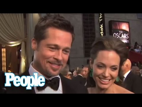 Brad And Angelina Make Oscars a Date Night | People