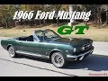 1966 Ford Mustang GT Convertible 289 classic car in 4K UHD