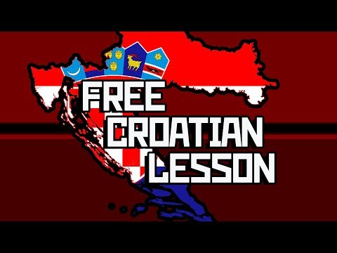 CROATIAN language lesson with Boris